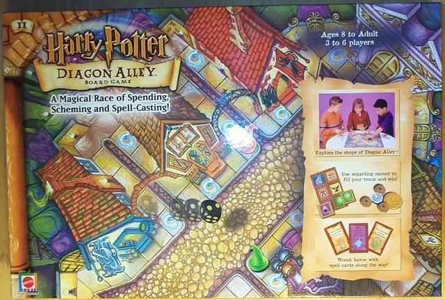настольная игра Harry Potter: Diagon Alley Board Game Гарри Поттер: Настольная игра Косого переулка