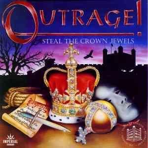 настольная игра Outrage! Steal the Crown Jewels Возмущение! Украсть драгоценности короны