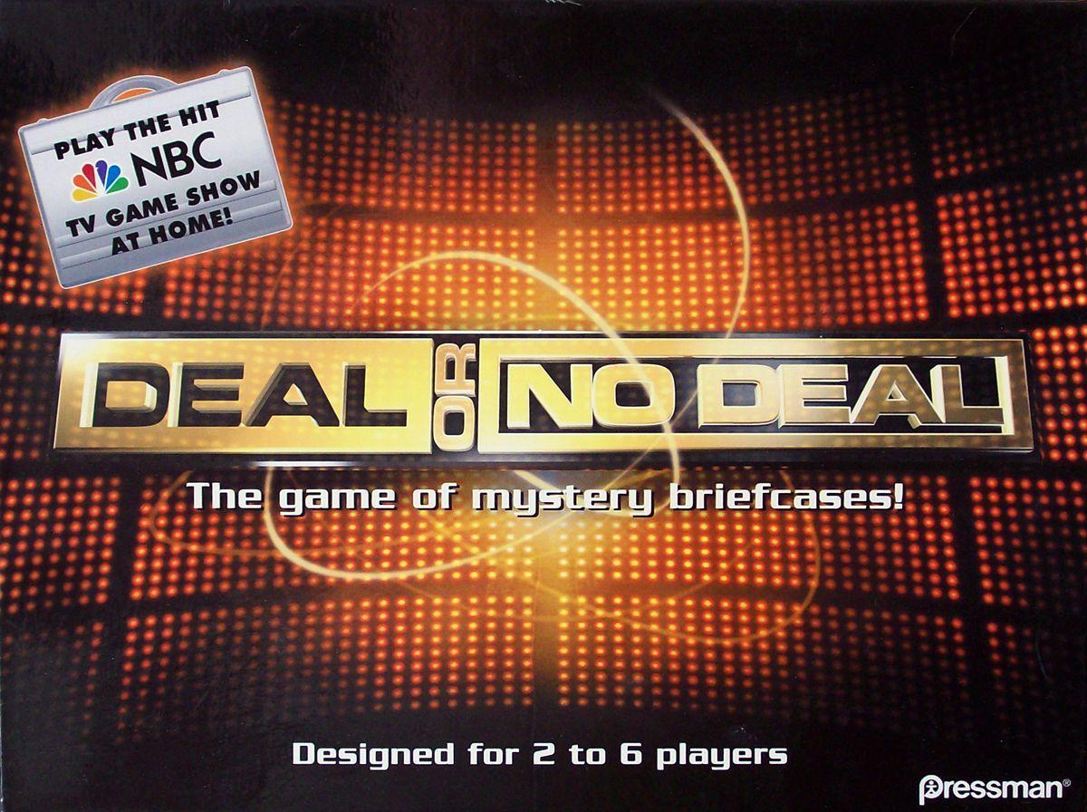 настольная игра Deal or No Deal Сделка или нет