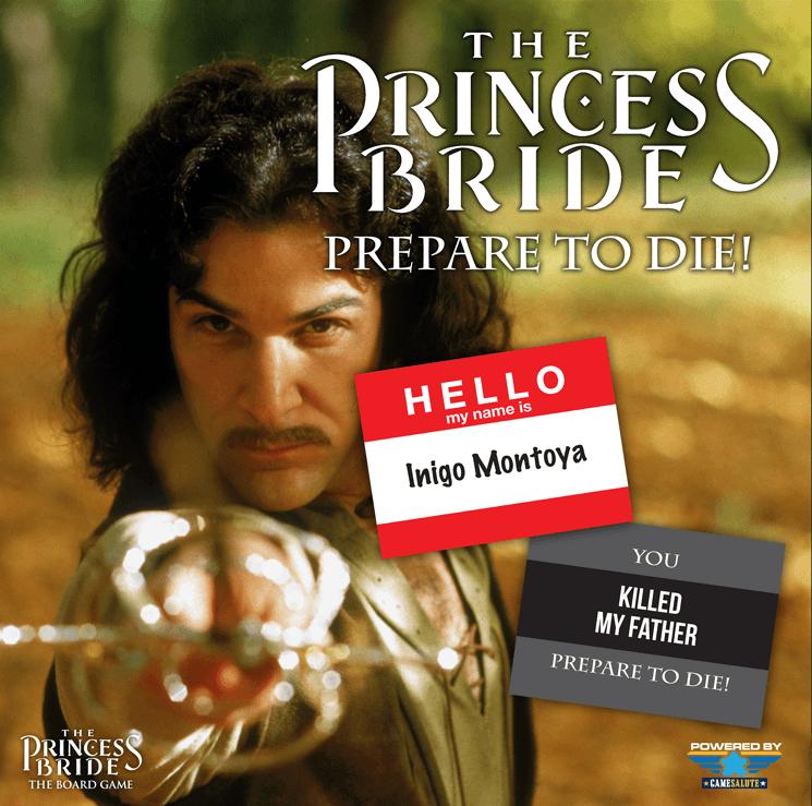 настольная игра The Princess Bride: Prepare to Die Принцесса-невеста: приготовьтесь к смерти