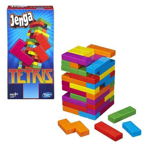 настольная игра Jenga: Tetris Дженга: Тетрис