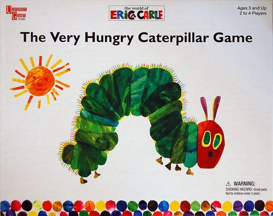 настольная игра The Very Hungry Caterpillar Game Игра Очень голодная гусеница