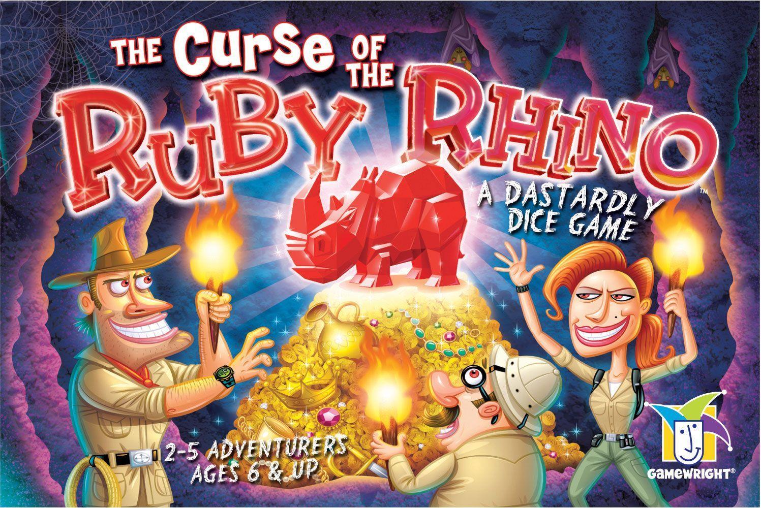 настольная игра The Curse of the Ruby Rhino Проклятие рубинового носорога