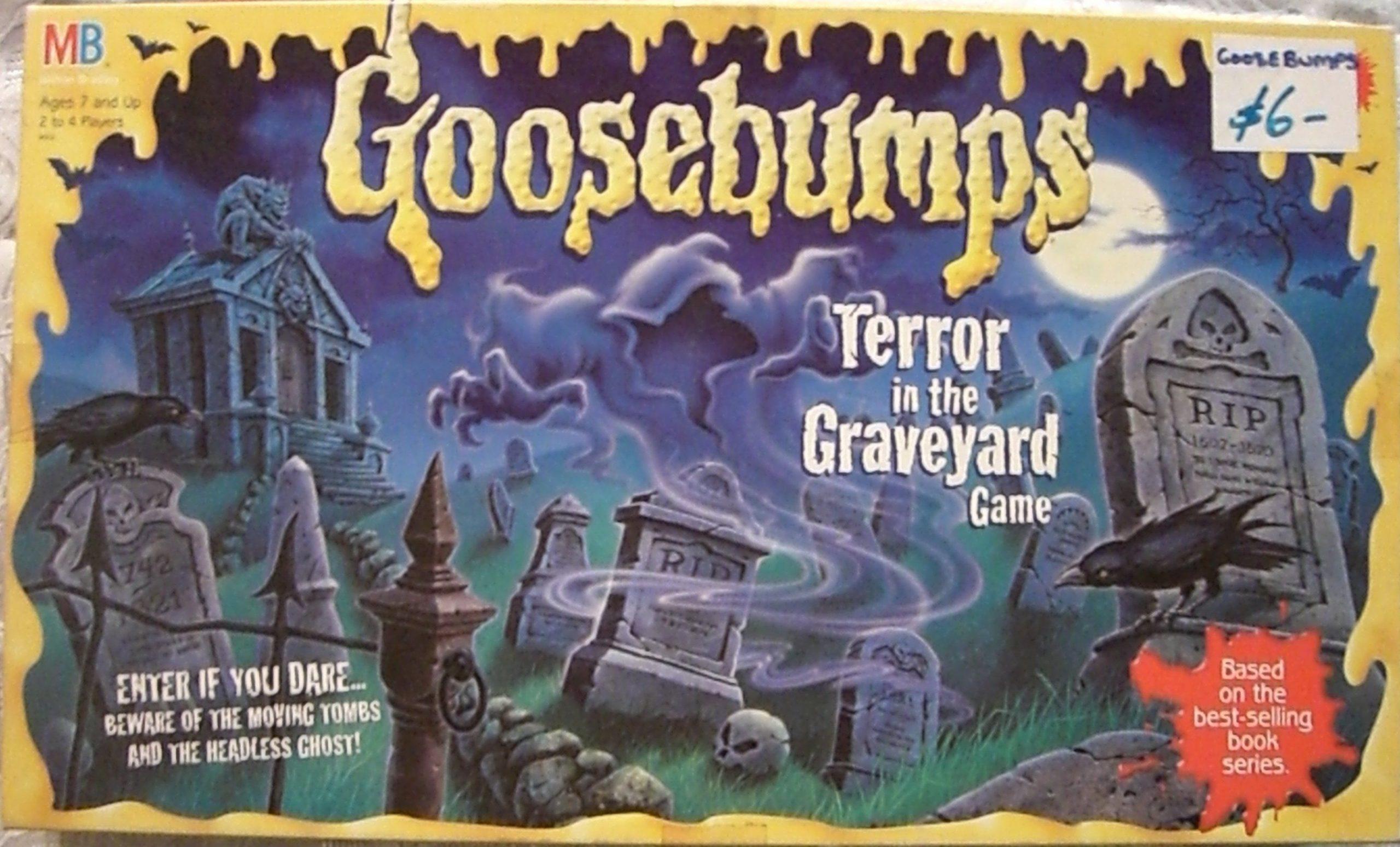 настольная игра Goosebumps: Terror in the Graveyard Game Мурашки по коже: Ужас на кладбище