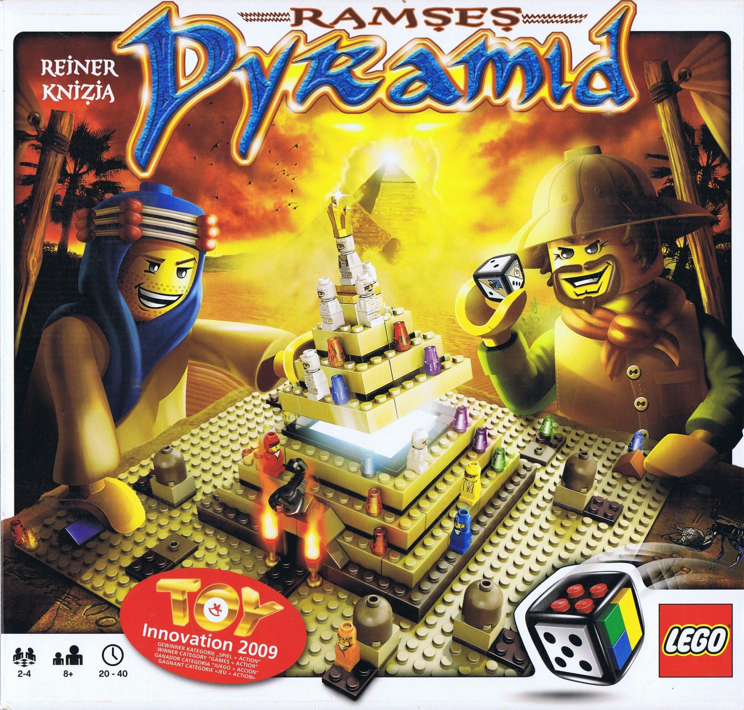 настольная игра Ramses Pyramid Пирамида Рамзеса