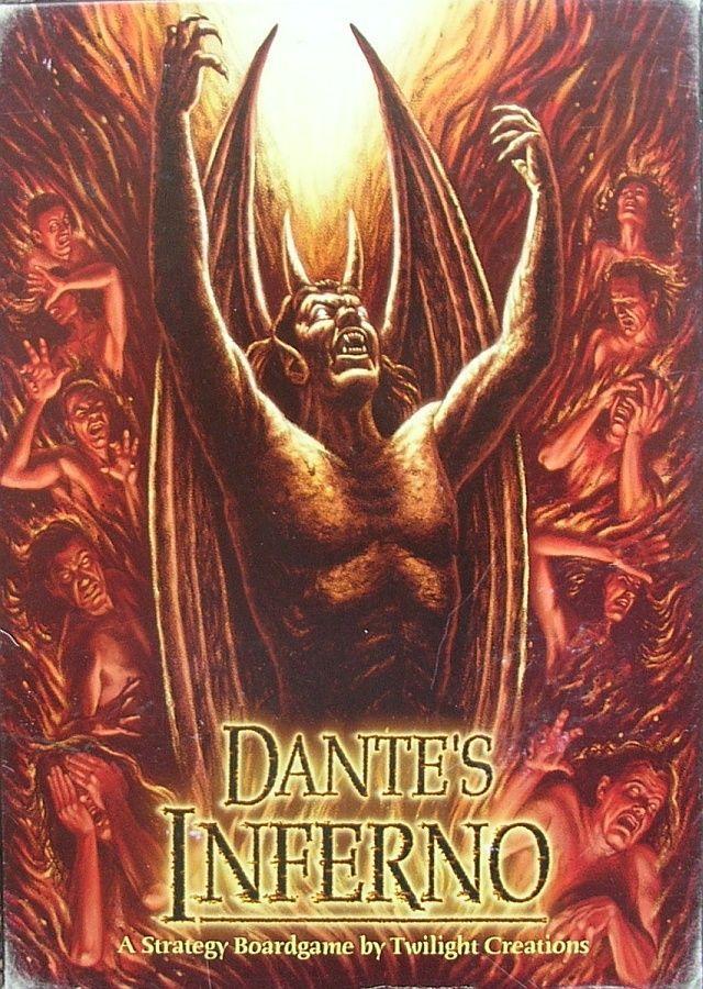 настольная игра Dante's Inferno Дантовский ад