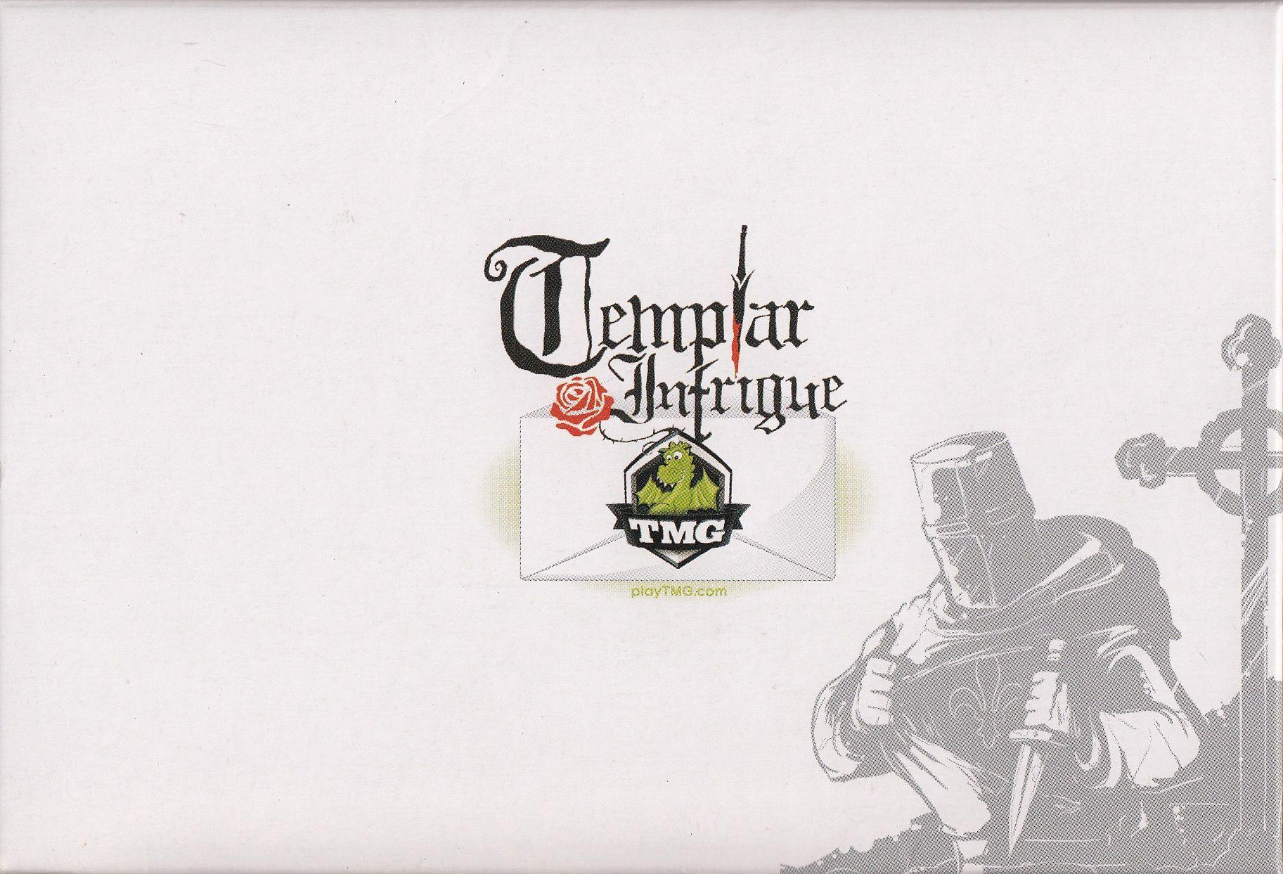 настольная игра Templar Intrigue Интриги тамплиеров
