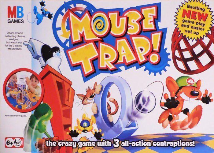 настольная игра Mouse Trap Мышеловка