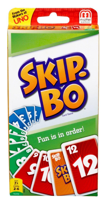 настольная игра Skip-Bo Скип-Бо