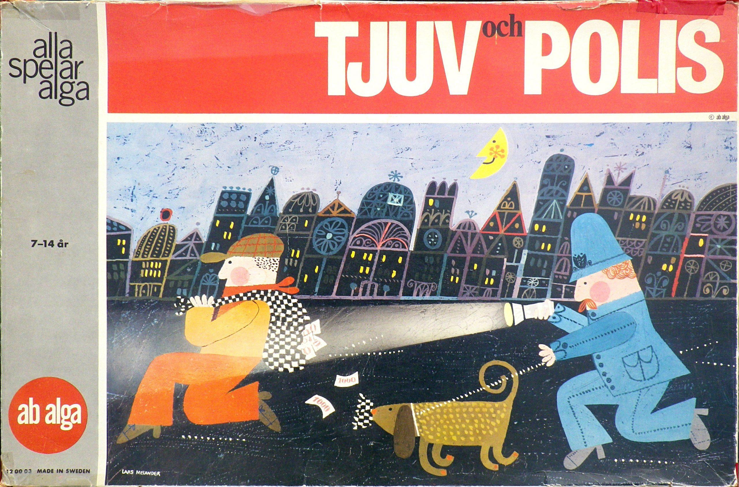 настольная игра Tjuv och polis Тюв оч полис