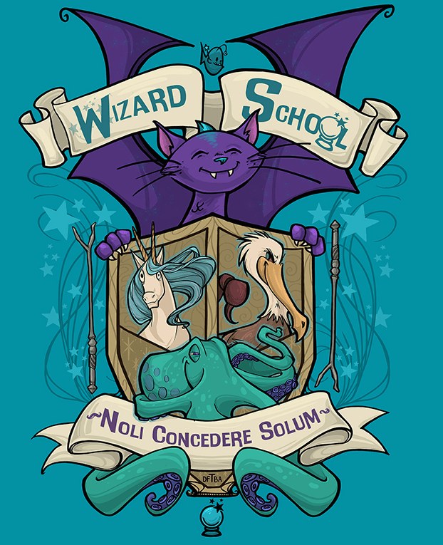 настольная игра Wizard School Школа Волшебников
