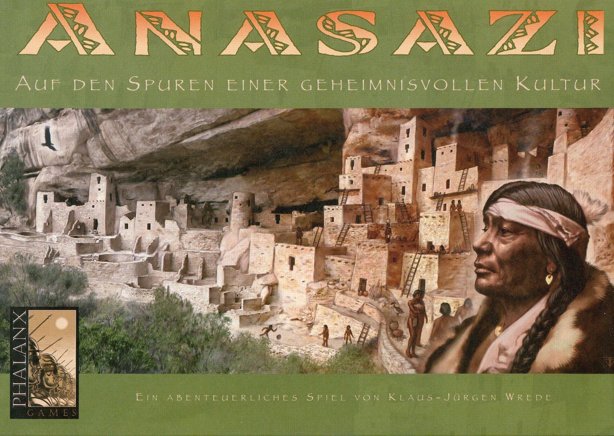 настольная игра Anasazi Анасази