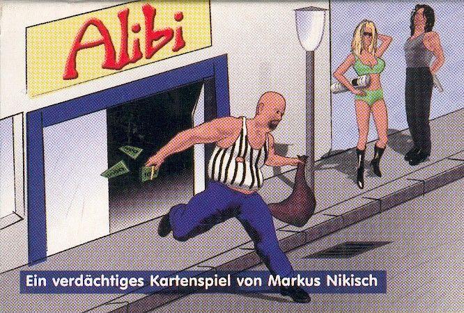 настольная игра Alibi Алиби