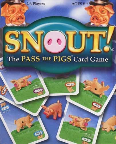 настольная игра Snout! The Pass The Pigs Card Game Морда! Карточная игра Pass The Pigs