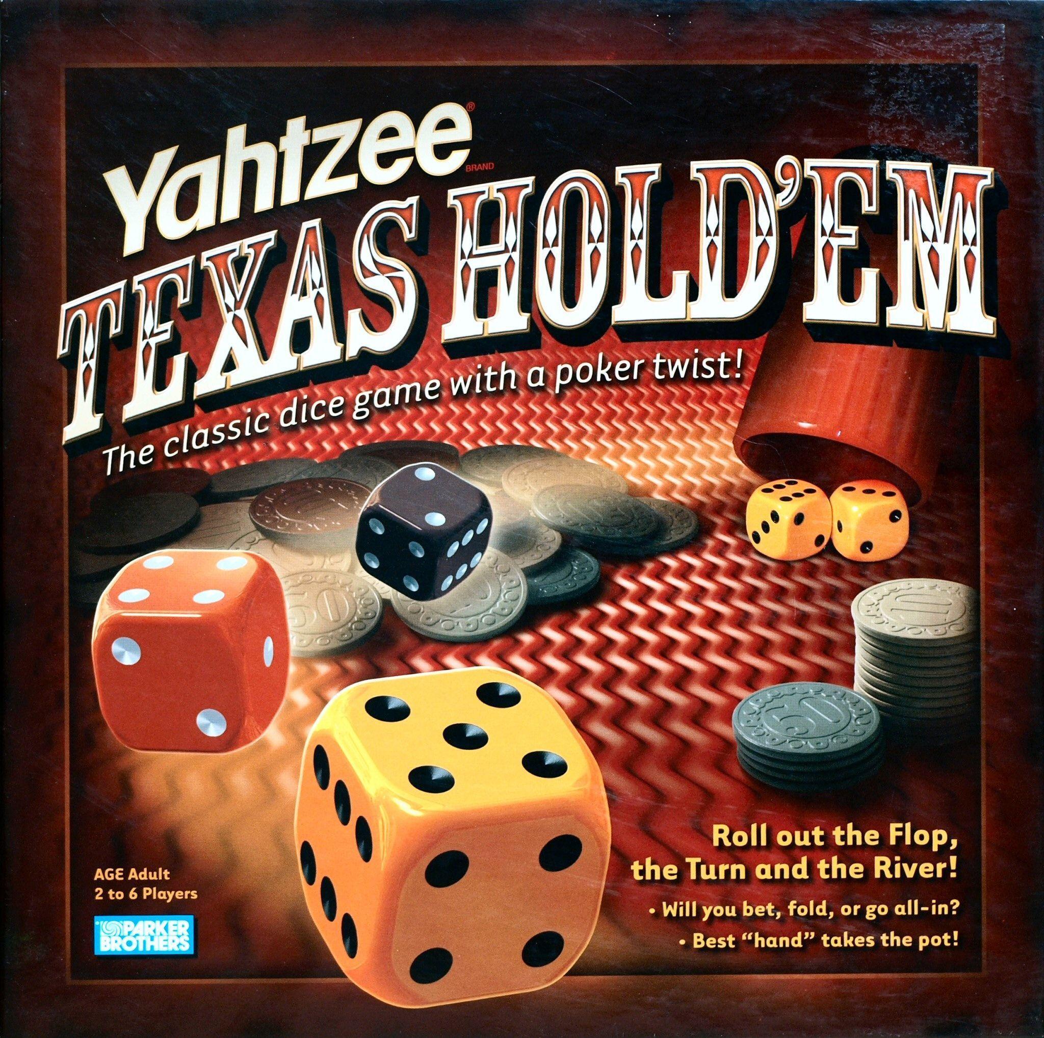 настольная игра Yahtzee: Texas Hold'em Ятзи: Техасский холдем