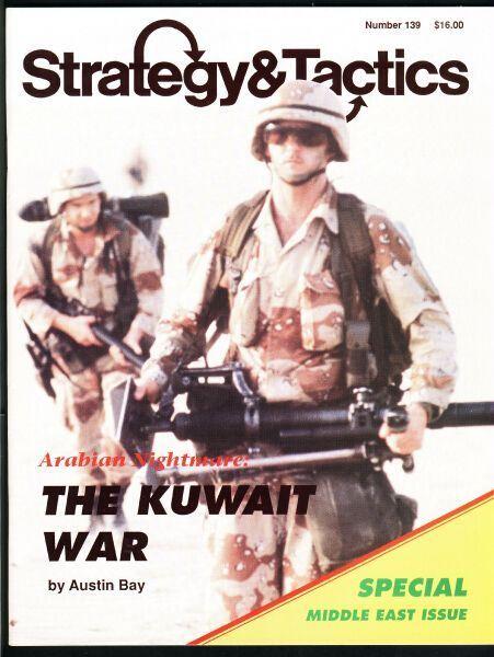 настольная игра Arabian Nightmare: The Kuwait War Арабский кошмар: Кувейтская война