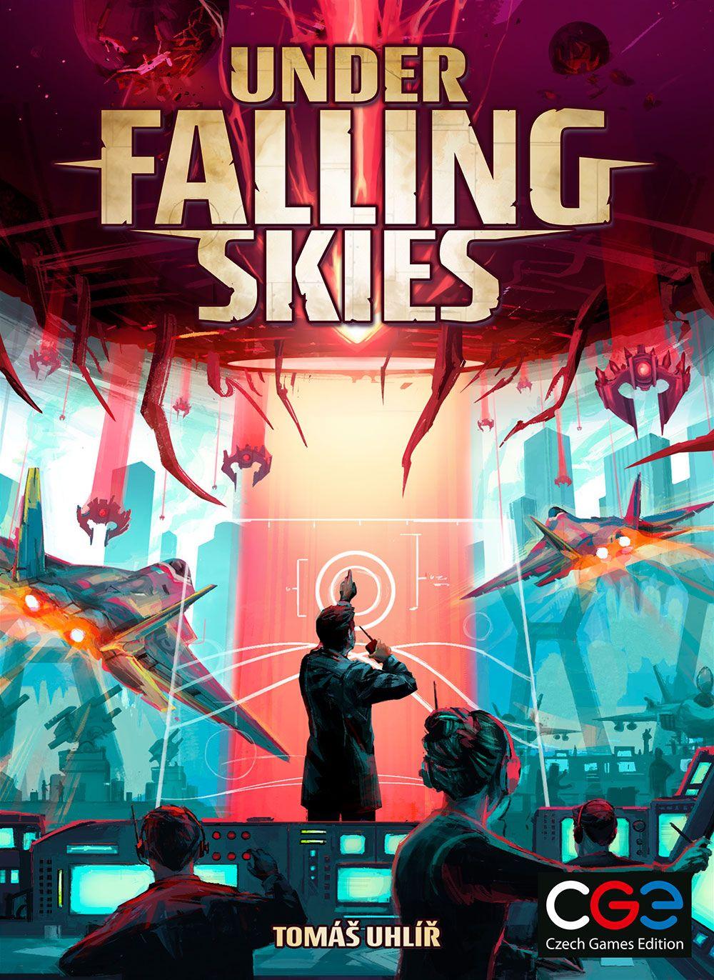 настольная игра Under Falling Skies Под падающим небом