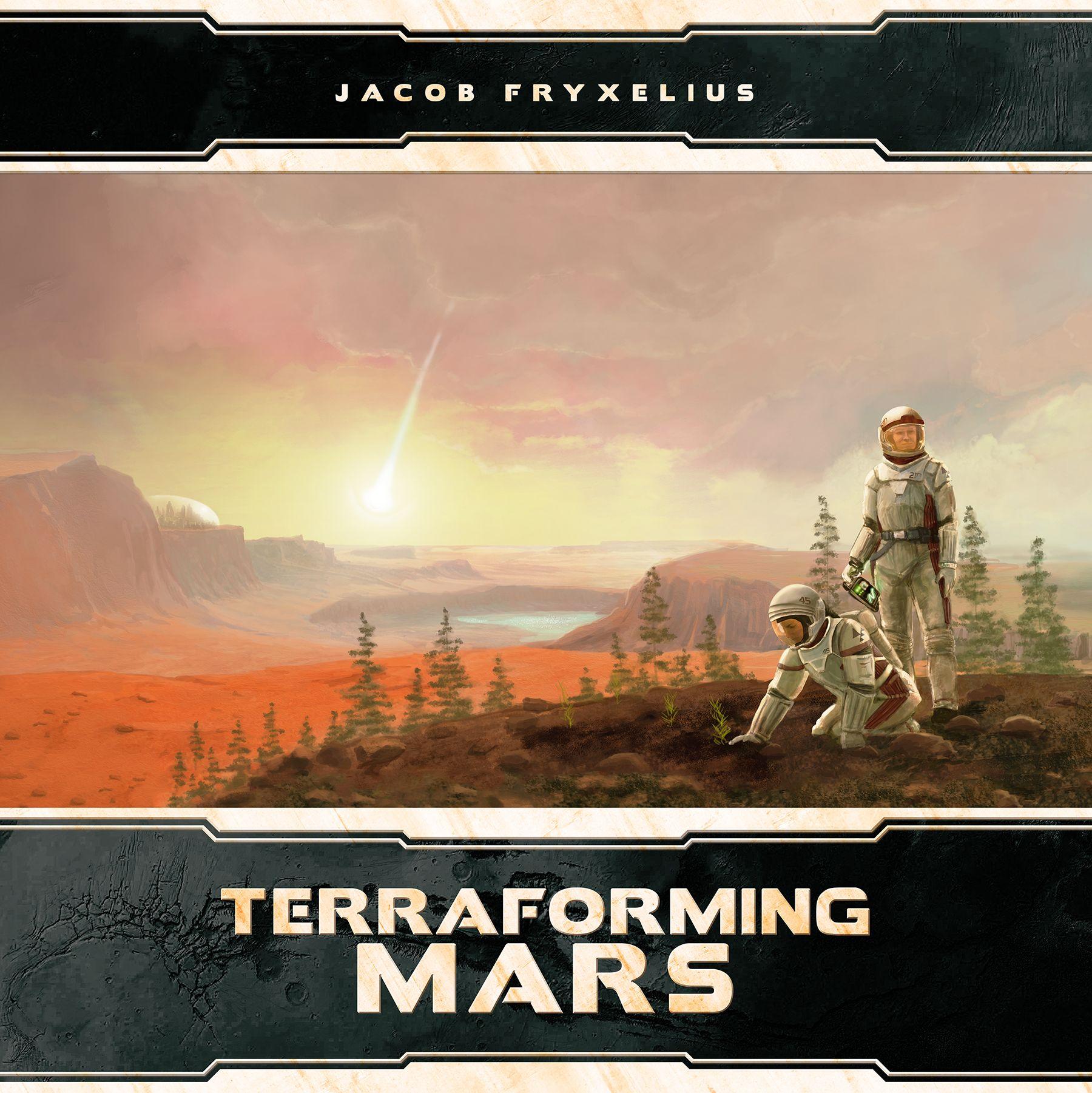 настольная игра Terraforming Mars: Big Box Терраформирование Марса: большая коробка