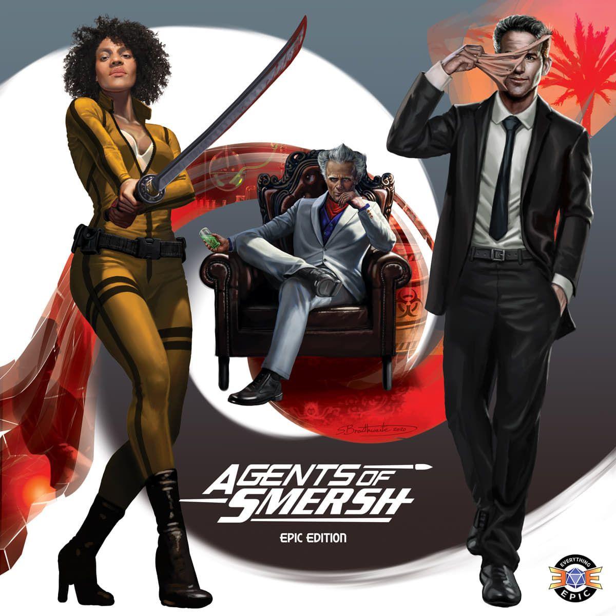 настольная игра Agents of SMERSH: Epic Edition Агенты СМЕРШ: Эпическое издание