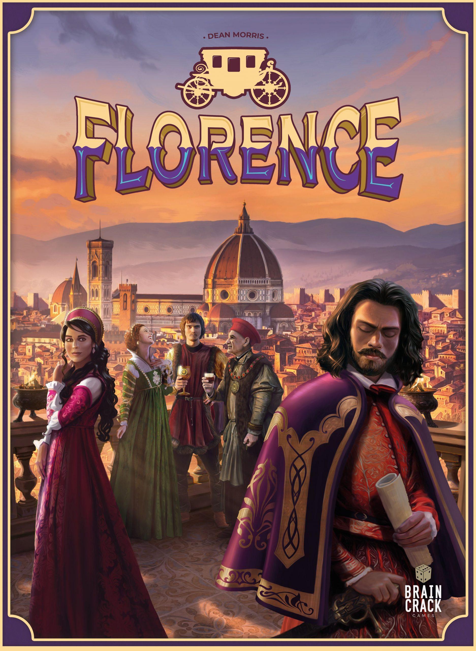 настольная игра Florence Флоренция