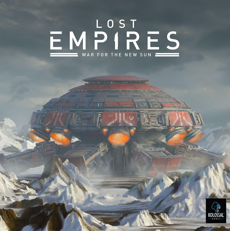 настольная игра Lost Empires: War for the New Sun Утраченные Империи: Война за Новое Солнце