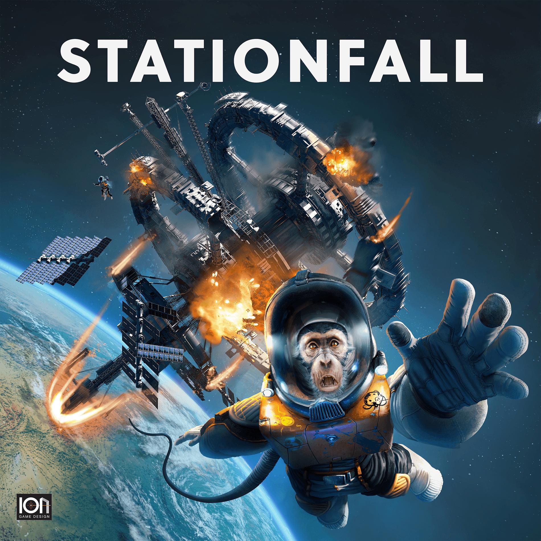 настольная игра Stationfall Остановка