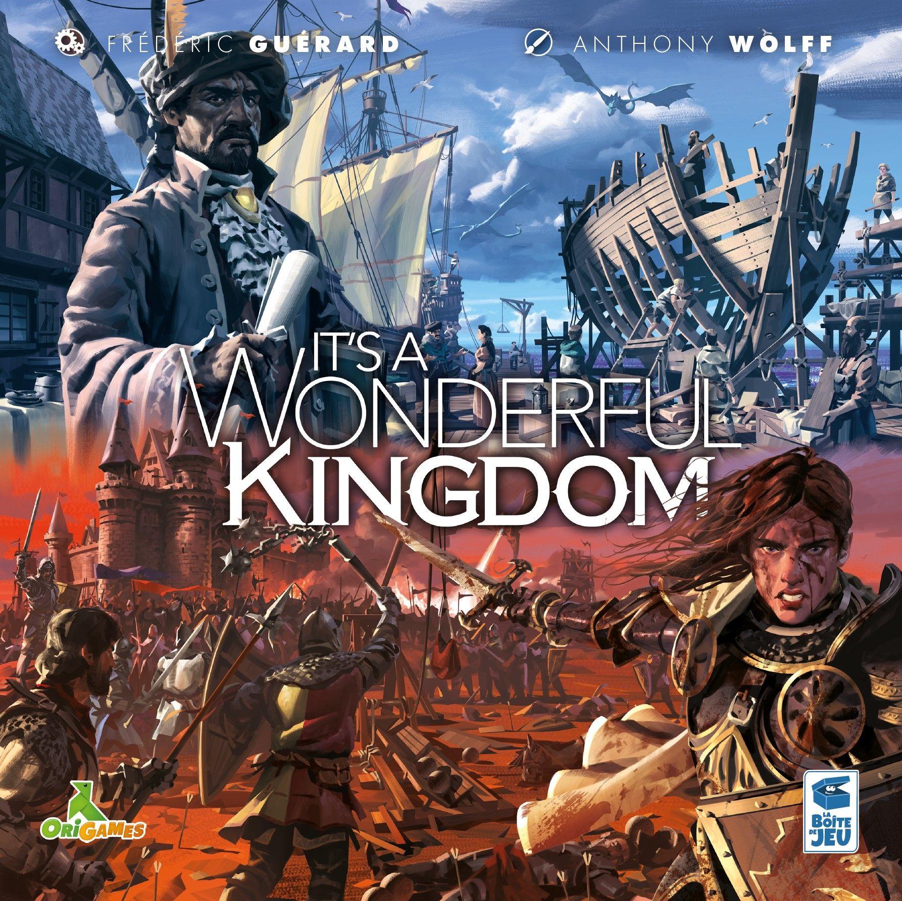настольная игра It's a Wonderful Kingdom Это чудесное королевство
