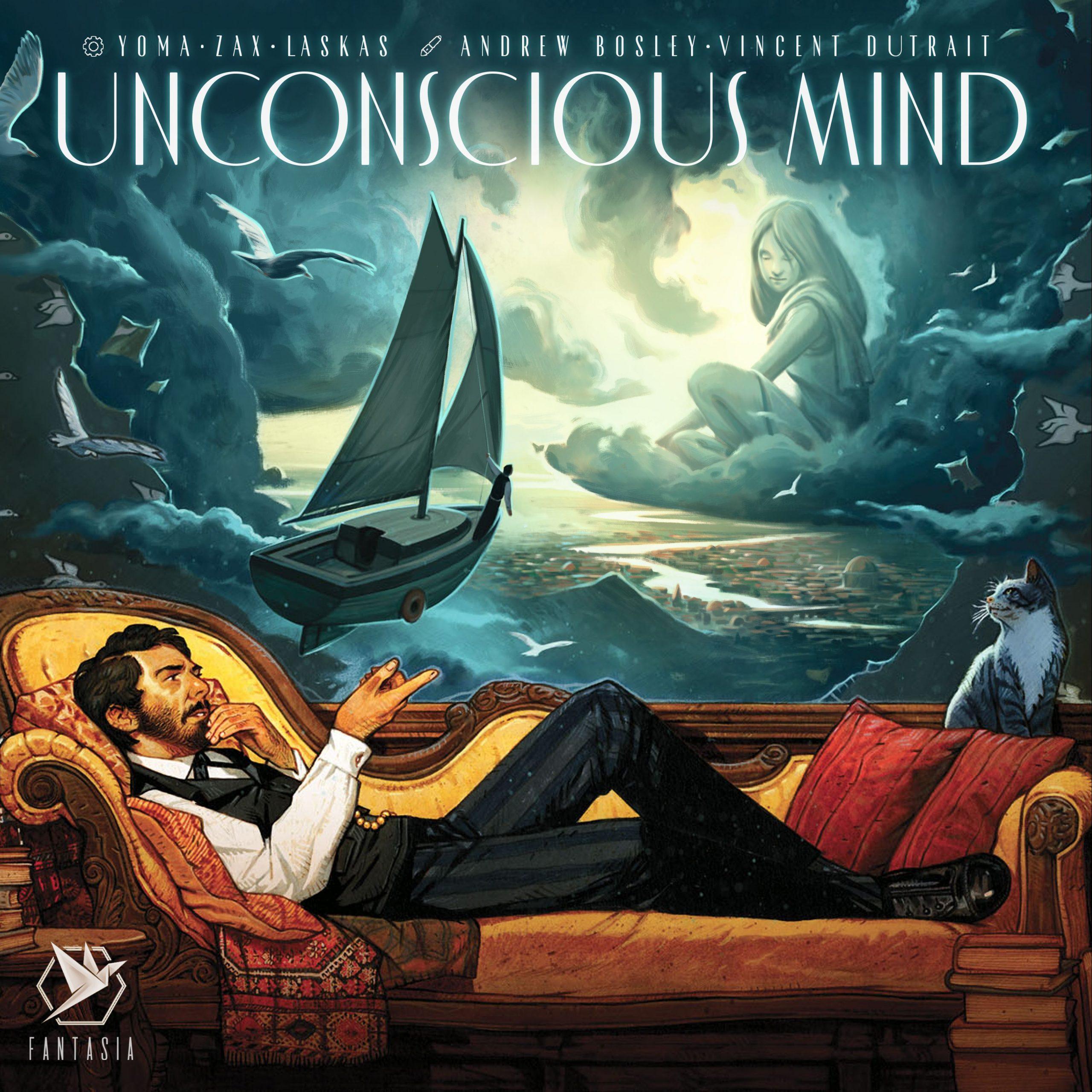 настольная игра Unconscious Mind Бессознательный разум