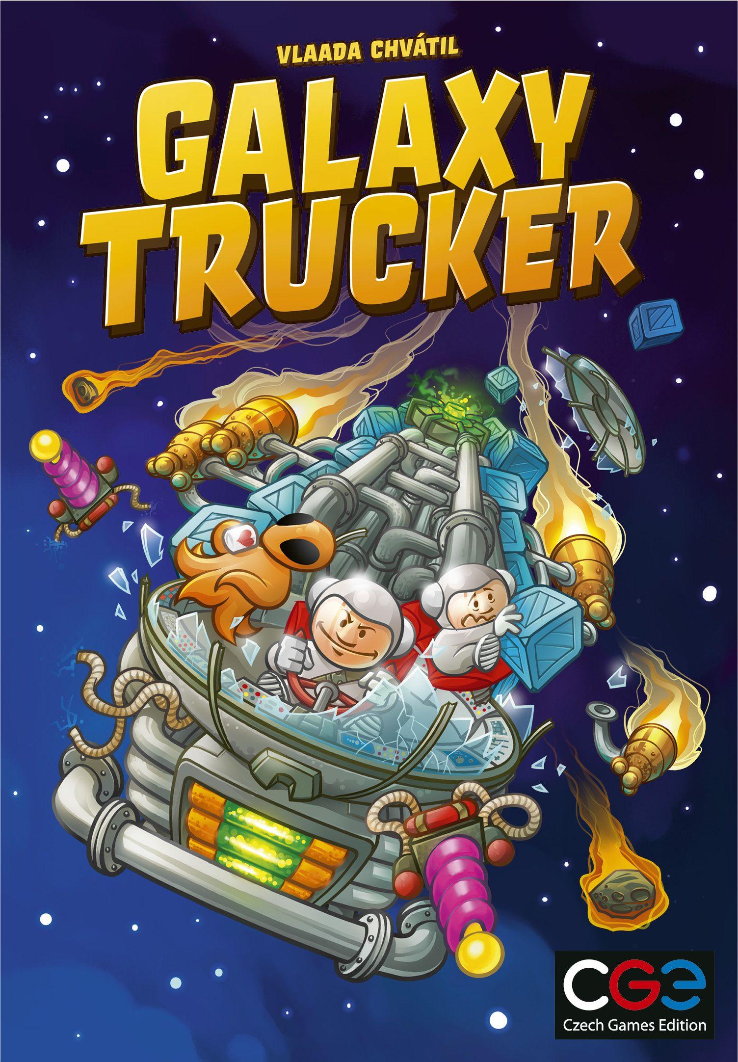 настольная игра Galaxy Trucker Галактика дальнобойщик