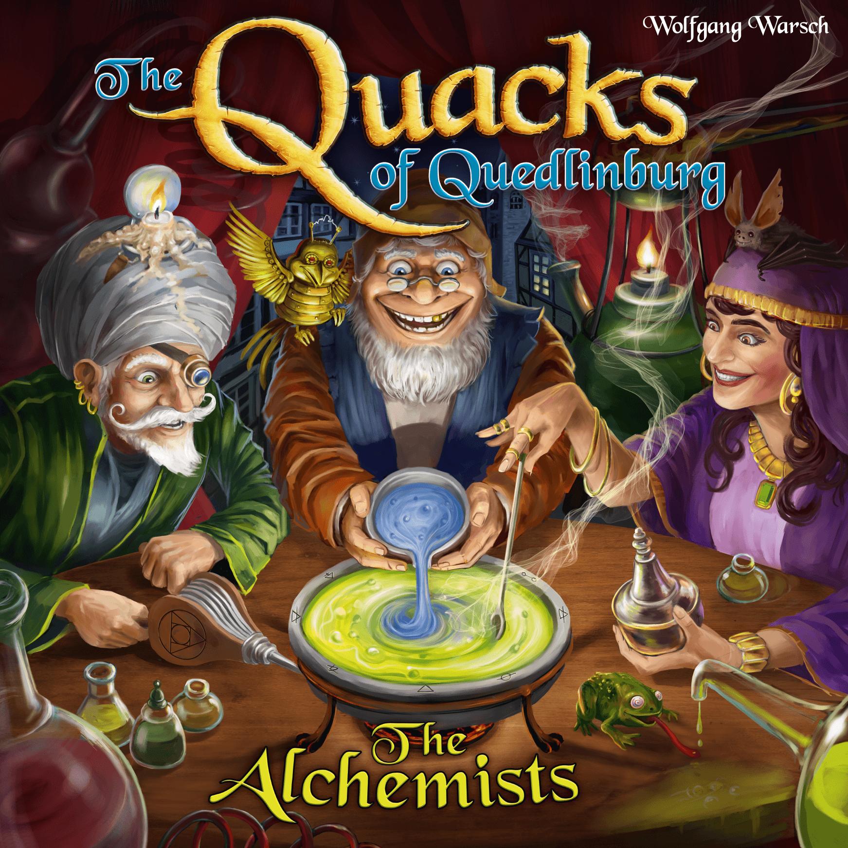 настольная игра The Quacks of Quedlinburg: The Alchemists Кведлинбургские шарлатаны: алхимики