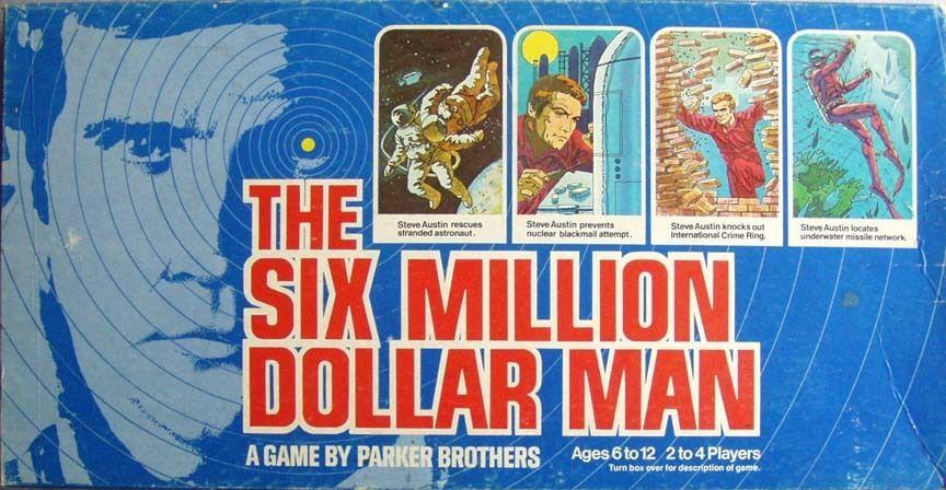 настольная игра The Six Million Dollar Man Человек за шесть миллионов долларов