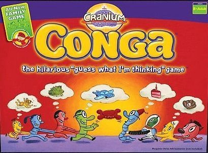 настольная игра Cranium Conga Череп Конга