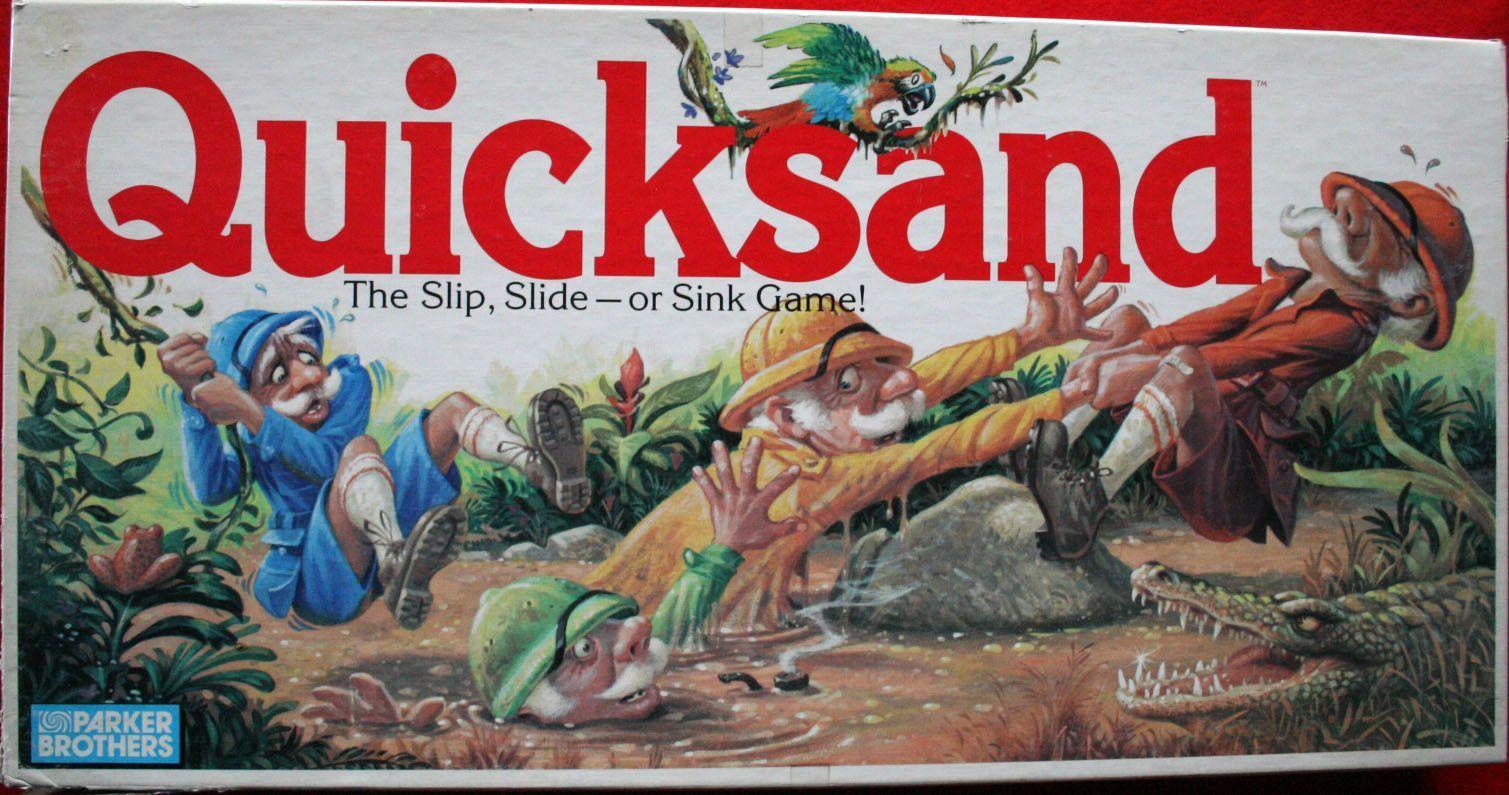 настольная игра Quicksand Зыбучие пески