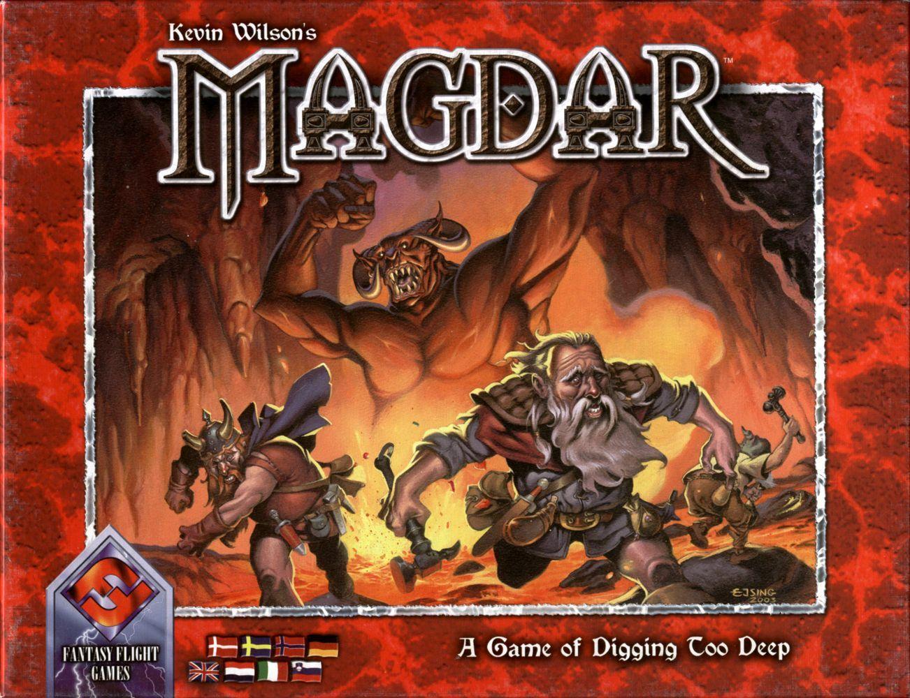 настольная игра Magdar Магдар