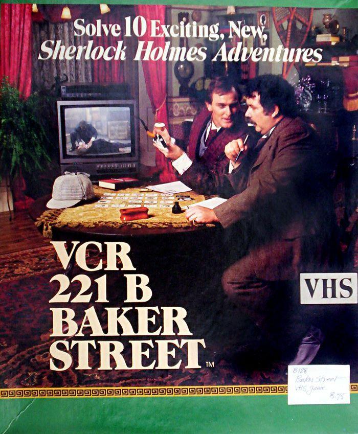 настольная игра VCR 221B Baker Street