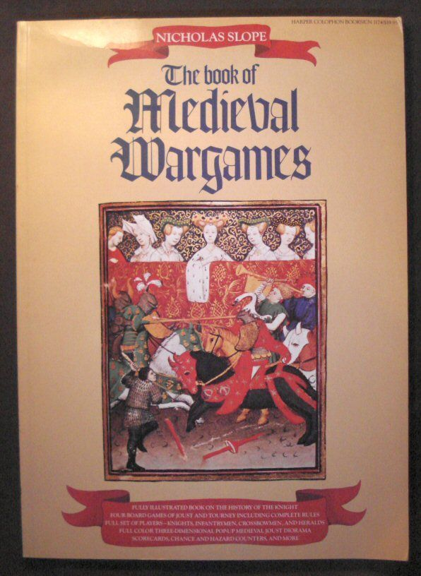 настольная игра The Book of Medieval Wargames