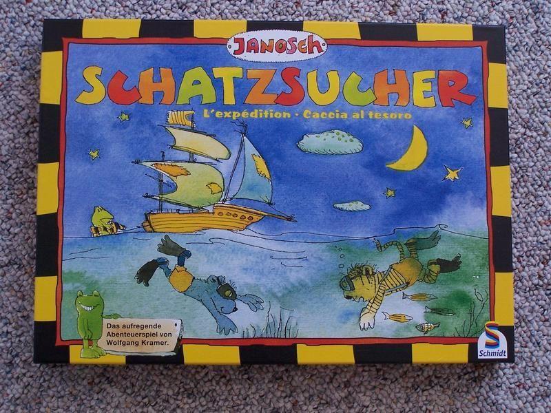 настольная игра Schatzsucher