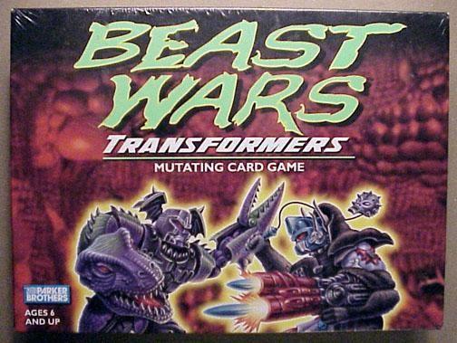 настольная игра Beast Wars Transformers Mutating Card Game
