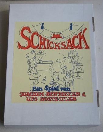 настольная игра Schicksack