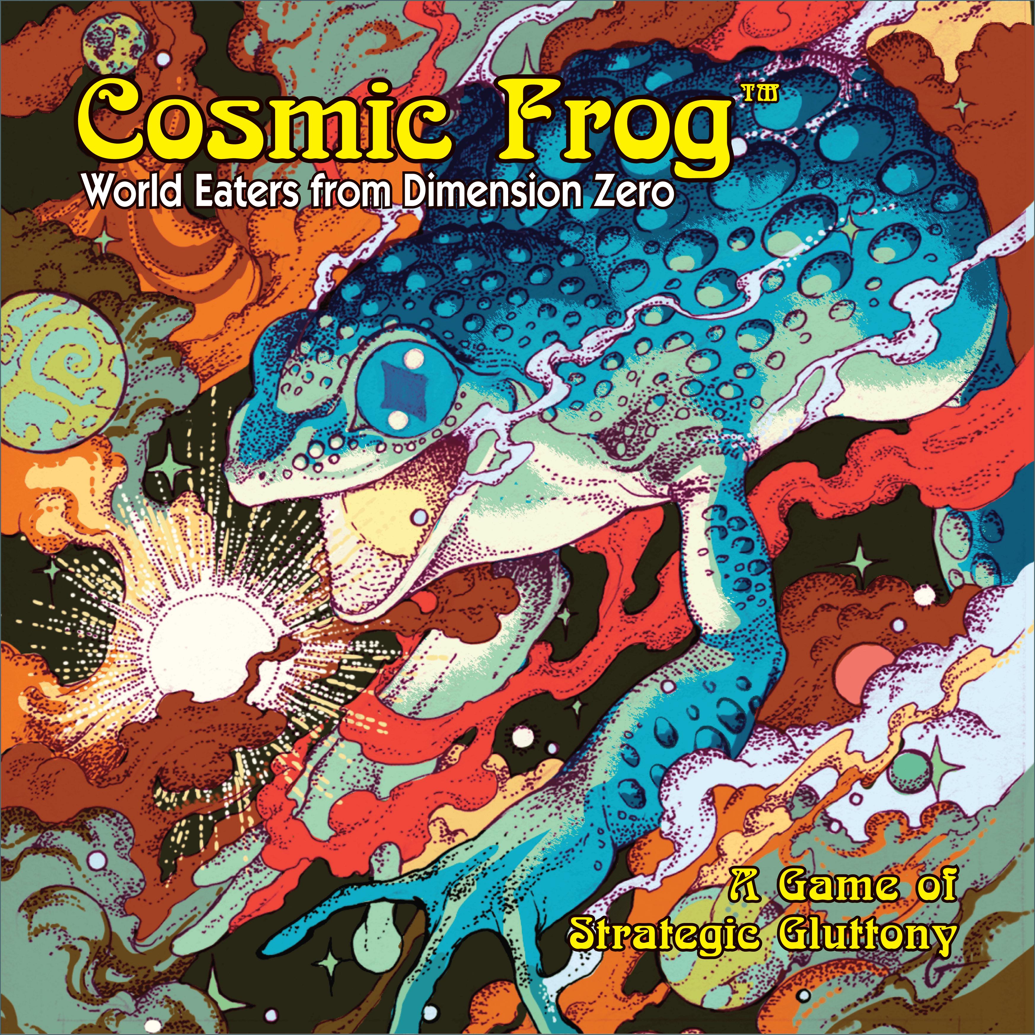 настольная игра Cosmic Frog