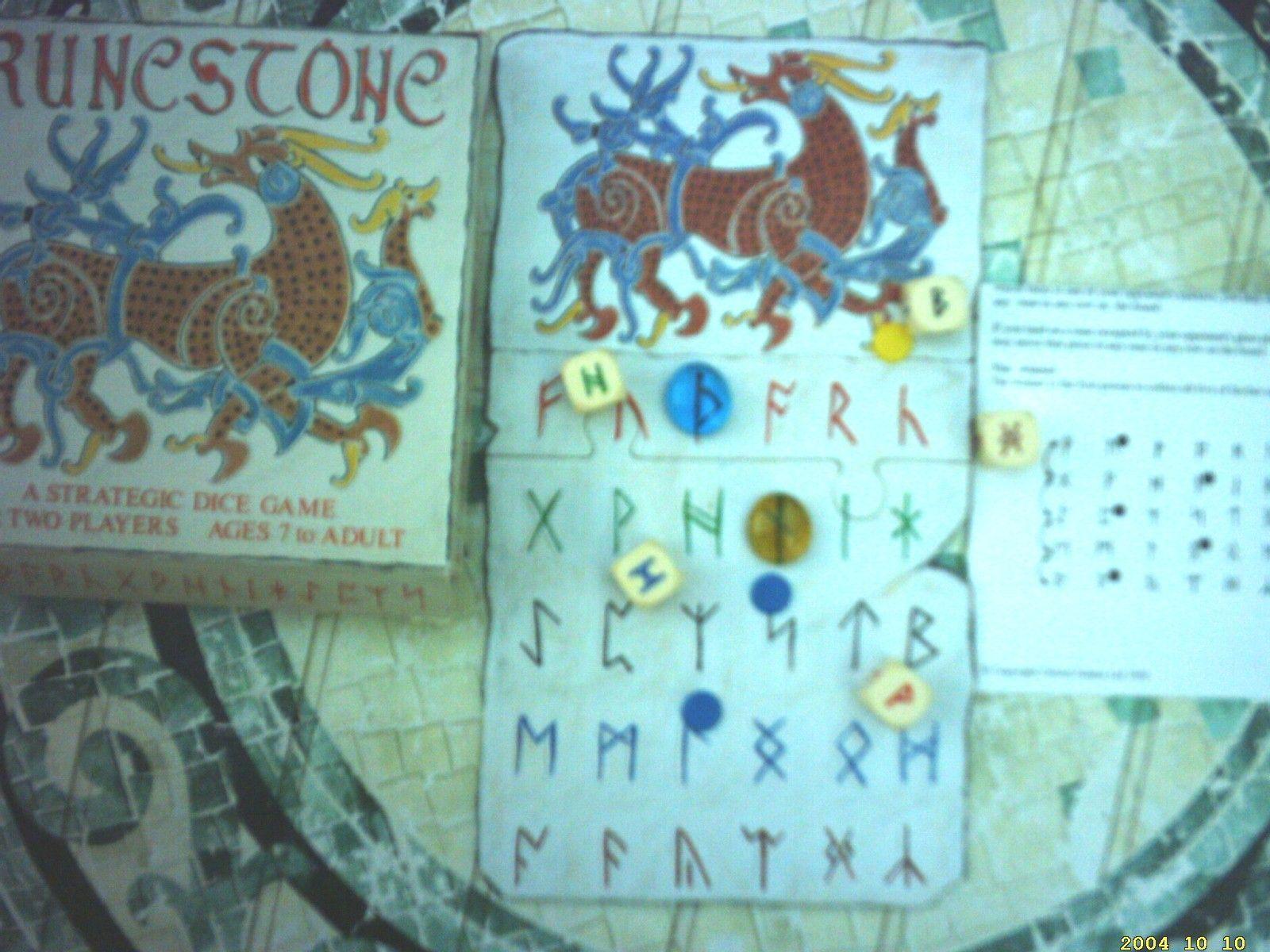 настольная игра Runestone