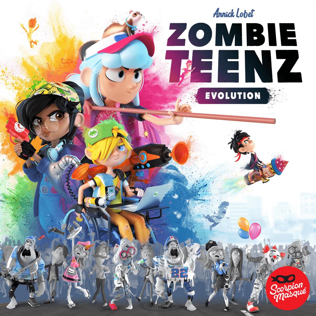 настольная игра Zombie Teenz Evolution