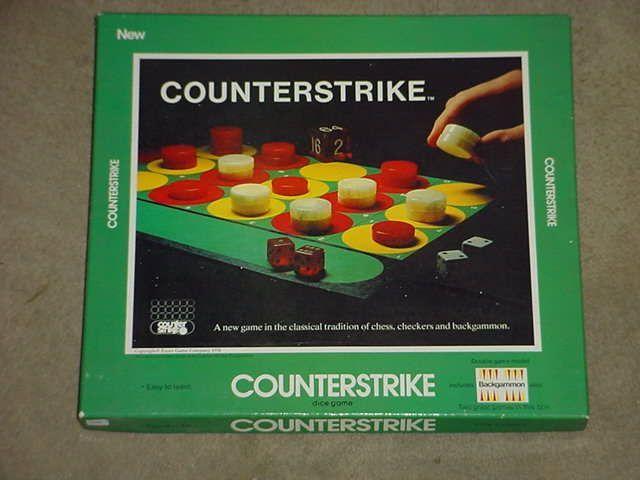 настольная игра Counterstrike