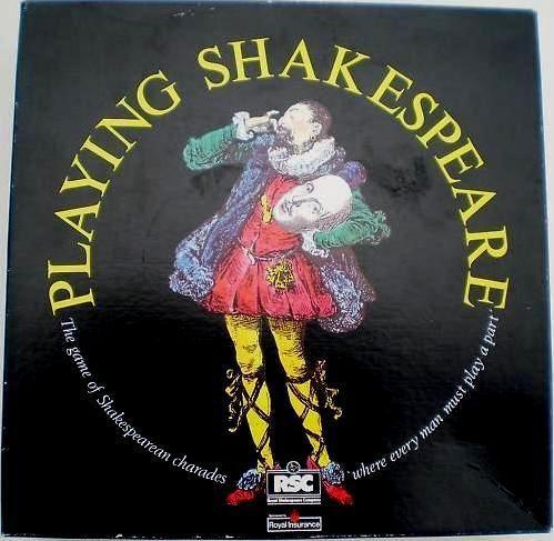 настольная игра Playing Shakespeare
