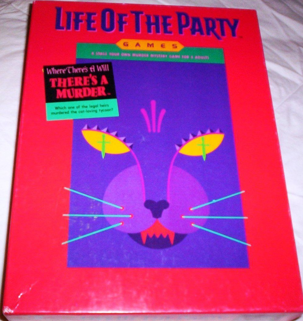настольная игра Life of the Party: Where There's a Will, There's a Murder