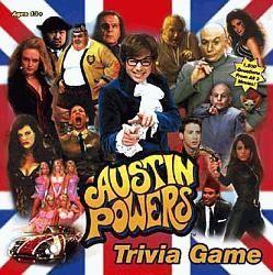 настольная игра Austin Powers Trivia Game