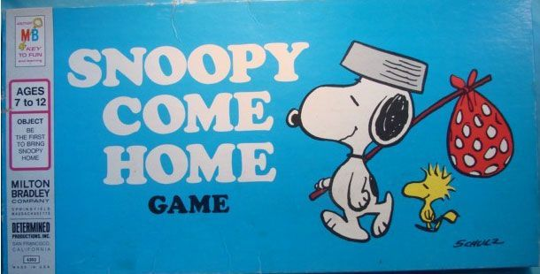 настольная игра Snoopy Come Home