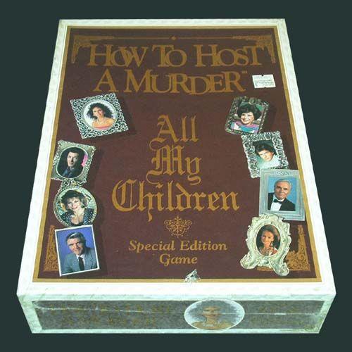 настольная игра How to Host a Murder: All My Children