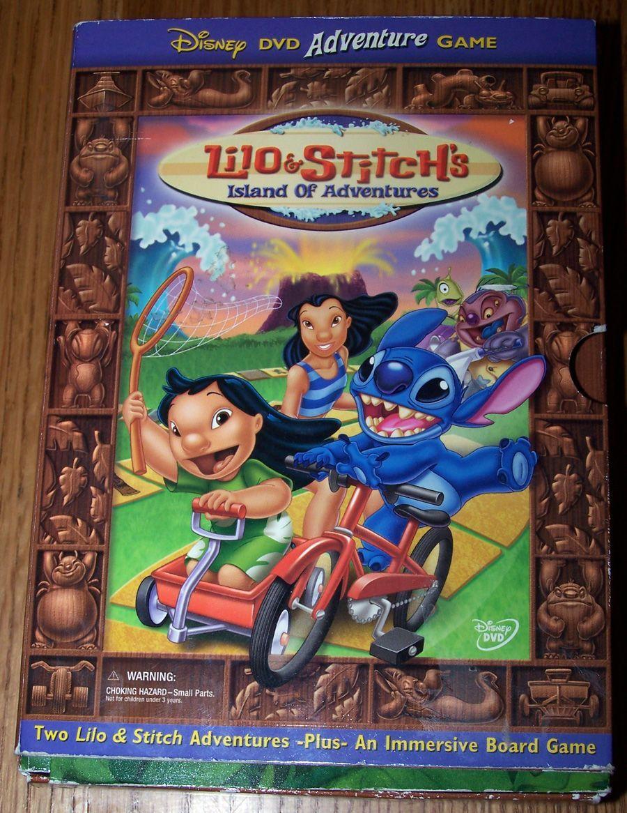 настольная игра Lilo & Stitch's Island of Adventures