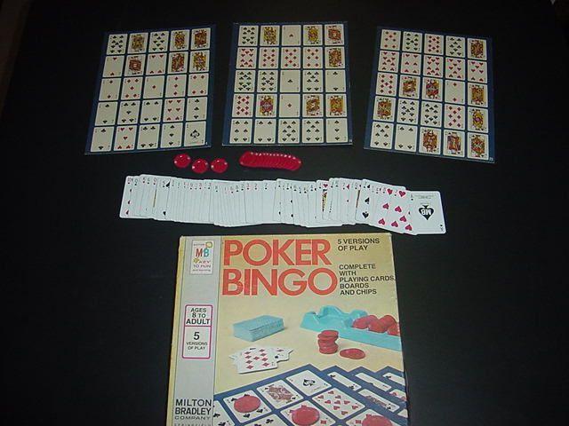 настольная игра Poker Bingo